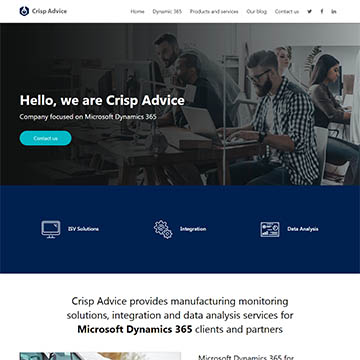 <p>Company focused on Microsoft Dynamics 365</p>